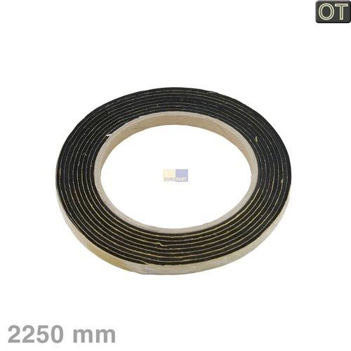 Klick zeigt Details von Dichtband für Kochfeld, 2,25m, OT!