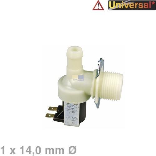 Magnetventil Ventil 1fach Waschmaschine Universell AEG Ariston Indesit Linde Scholtes Interfunk SecondiMarchi Terzi Rondo