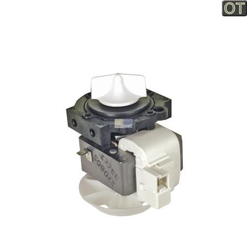 Klick zeigt Details von Ablaufpumpe Spaltmotor (Solo) Waschmaschine 3833283 MIELE HANNING