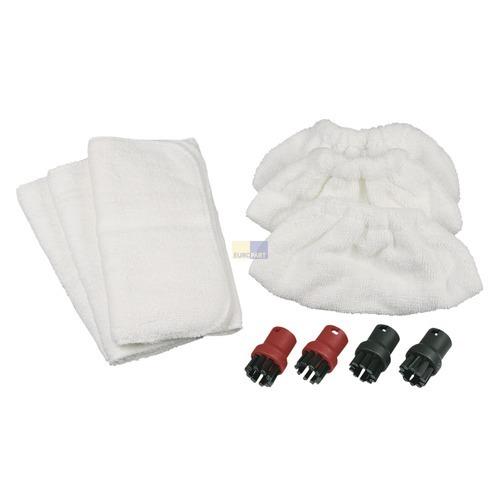Klick zeigt Details von Frottee-Tücher Bodentücher + Handdüsen-Überzüge + Aufsatzdüsen