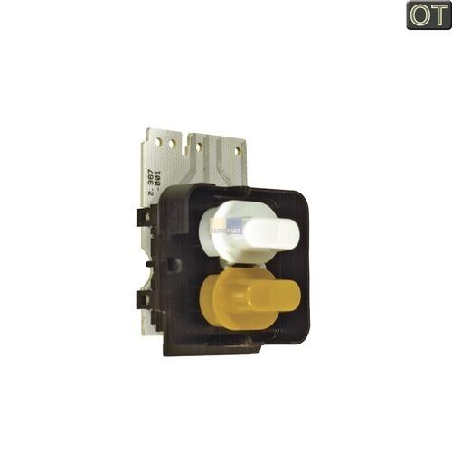Klick zeigt Details von Tastenschalter 2-fach, TR. MIELE 4765260