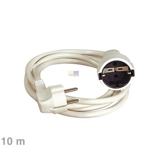 Kabel Schuko-Verlängerungskabel 10m