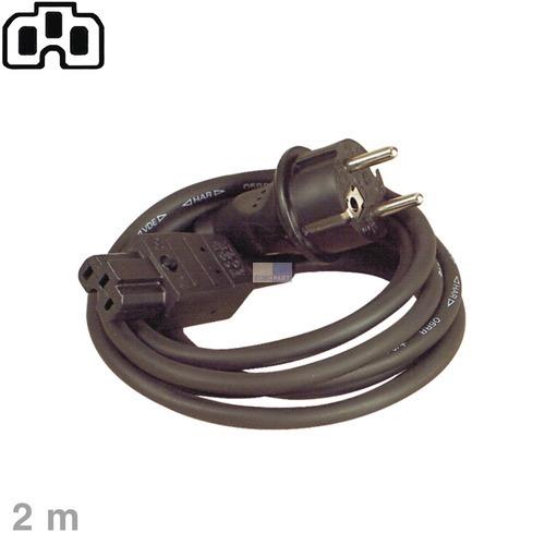 Klick zeigt Details von Anschlusskabel (Heißgeräte) 2,0m