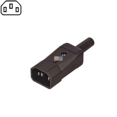 Klick zeigt Details von Kaltgeräte-Stecker 70°
