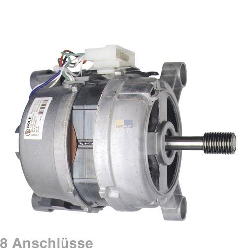 Klick zeigt Details von Motor ZANUSSI 124277808/0 Original SOLE für Waschmaschine Waschtrockner