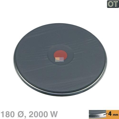 Klick zeigt Details von Kochplatte 180mmØ 2000W 230V  AEG/Electrolux 305178425