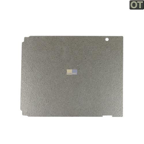 Klick zeigt Details von Hohlleiterabdeckung 140x115mm LG 3052W1M019B Original für Mikrowelle