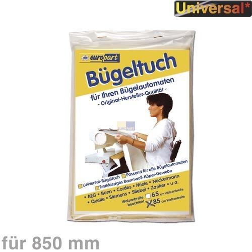 Klick zeigt Details von Bügeltuch für Bügelautomat 899647016870 AEG 85 cm
