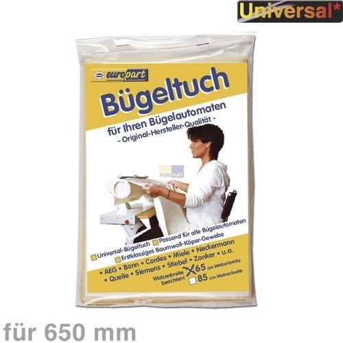 Klick zeigt Details von Bügeltuch für Bügelautomat 899647016870 AEG 65 cm