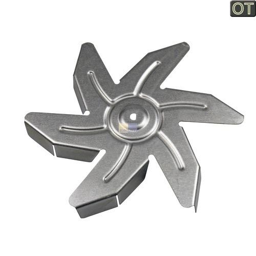 Klick zeigt Details von Flügel für Heißluftherdventilator OT! AEG Electrolux Zanker Juno Voss IKEA Silentic Husqvarna