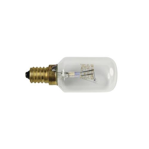Klick zeigt Details von Lampe E14 40W 29mmØ 76mm 230/240V AEG 319256007/0 Original für Backofen