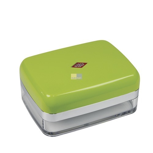 Klick zeigt Details von Butterdose Farbe limegreen