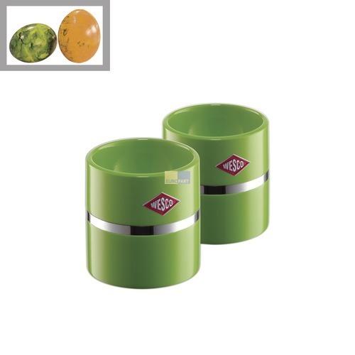Klick zeigt Details von Eierbecher Farbe limegreen, 2 Stück