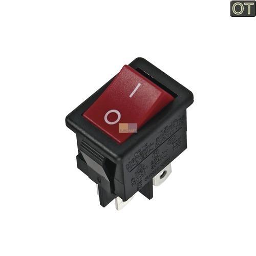 Klick zeigt Details von Ein-/Ausschalter Samsung 3402-001040 Original rot für Saugroboter