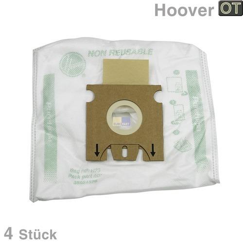 Filterbeutel HOOVER 35601375 H73 PureEpa Original für Staubsauger 4Stk