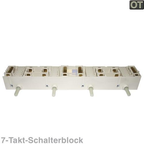 Klick zeigt Details von Kochplattenschalterblock 4er-Einheit Dreefs 5HE/10 01 D0605