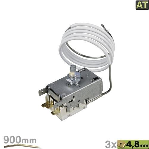 Klick zeigt Details von K59L2621 Kühlschrank Thermostat AEG Bosch DeDietrich Imperial Juno Liebherr Miele Ranco Siemens Cortina
