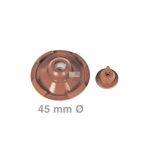 Klick zeigt Details von Silikonlagersatz 45mmØ für Querstromlüfter