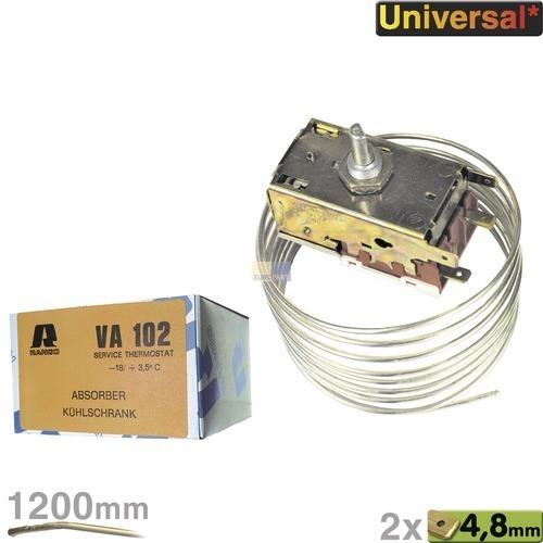 Klick zeigt Details von Ranco Thermostat K50H1105 VA102 Kühlschrank AEG 206250901 Privileg 00450049 Neckermann