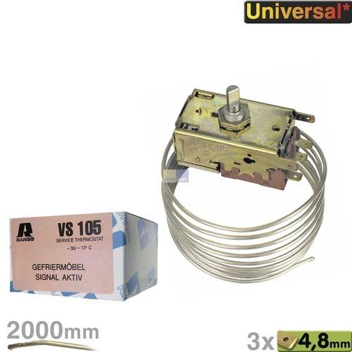 Klick zeigt Details von Service-Thermostat Gefriermöbel, VS 105
