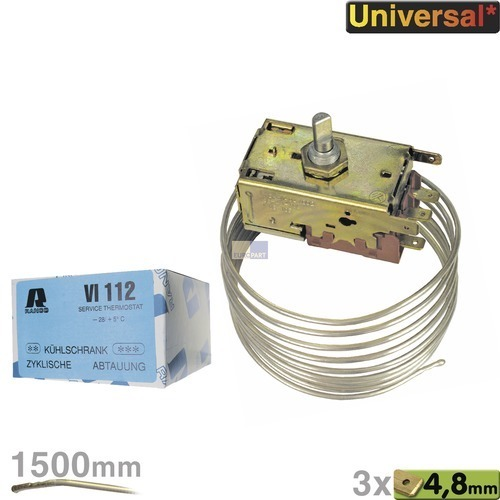 Klick zeigt Details von Service-Thermostat 2/3* Kühlschr. VI 112
