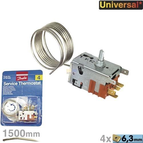 Klick zeigt Details von Kühlschrank Thermostat 077B7004 Danfoss Nr4 universell einsetzbar