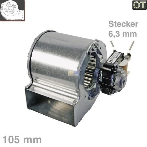 Klick zeigt Details von Querstromlüfter 105mm-A-rechts