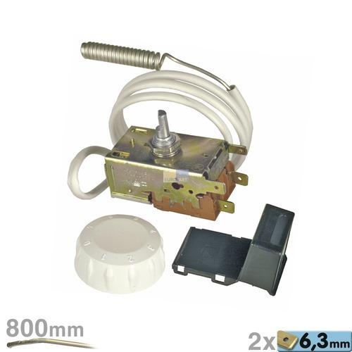Klick zeigt Details von Thermostat K50-H1121/011 Ranco 850mm Kapillarrohr zur Nasskühlung