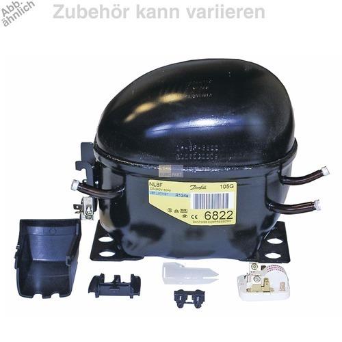 Klick zeigt Details von Kompressor für R134A 1/4PS
