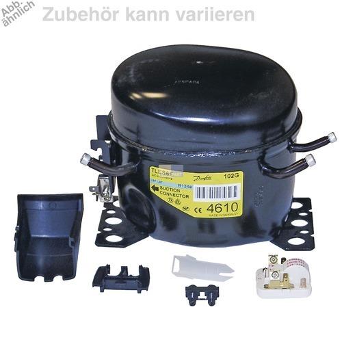 Klick zeigt Details von Kompressor für R600A 1/10PS