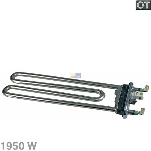 Klick zeigt Details von Heizelement 1950W 230V AEG Electrolux 379230130 Heizung Waschmaschine Trockner