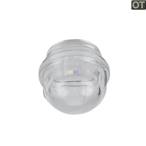 Klick zeigt Details von Lampenabdeckung Ø41mm, Glas  AEG/Electrolux 387911390