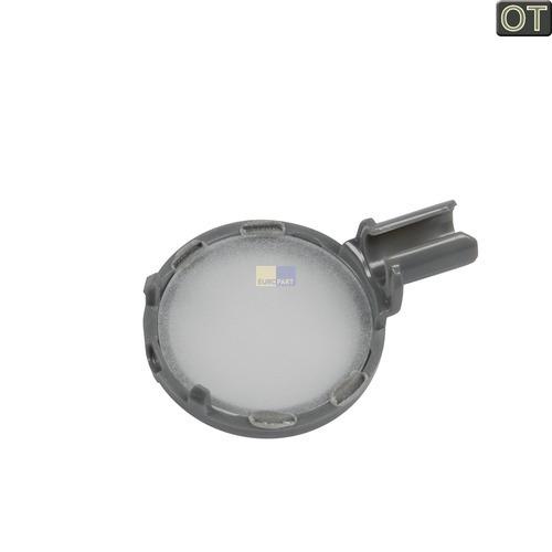 Klick zeigt Details von Dunstabzugshaube Lampen Streuscheibe mit 391849901 AEG Electrolux Zanker Juno