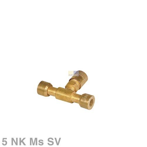 Klick zeigt Details von Kupplung + Schraderventil Kappe Lokring
