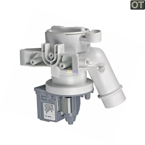 Ablaufpumpe mit Pumpenstutzen und Filter