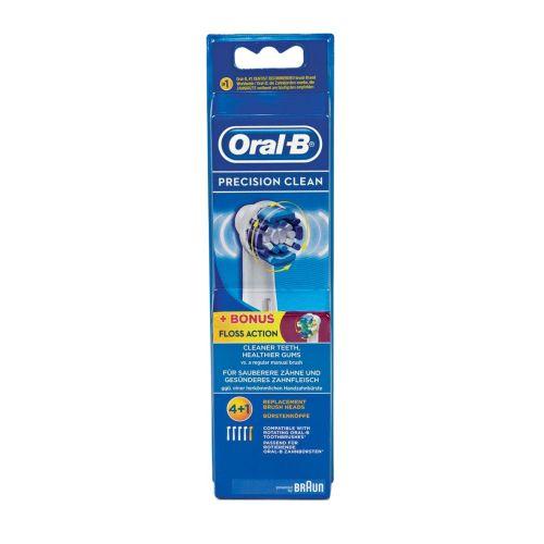 Klick zeigt Details von Aufsteckbürsten für elektrische Zahnbürste Braun EB20-4 + EB25-1 Oral-B