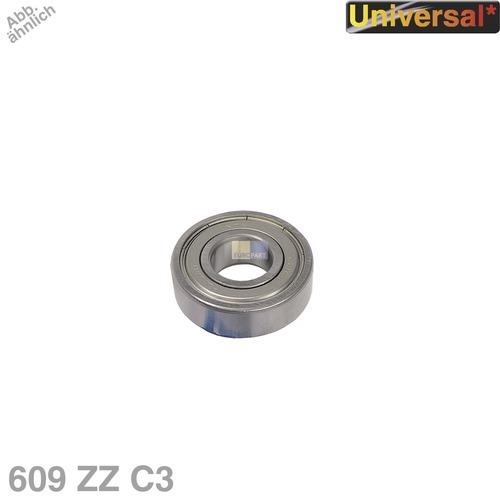 Klick zeigt Details von Kugellager 609 ZZ C3 NTN/SNR Universal