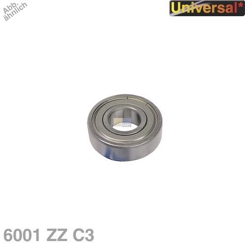 Klick zeigt Details von Kugellager 6001 ZZ C3 NTN/SNR Universal