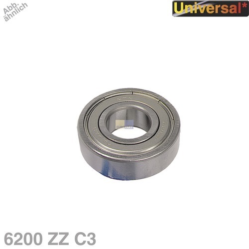 Klick zeigt Details von Kugellager 6200 ZZ C3 NTN/SNR Universal
