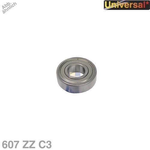 Klick zeigt Details von Kugellager 607 ZZ C3 NTN/SNR Universal