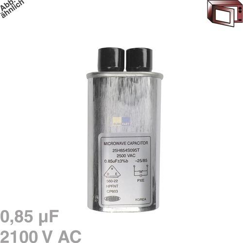 Klick zeigt Details von Kondensator 0,85µF 2100VAC