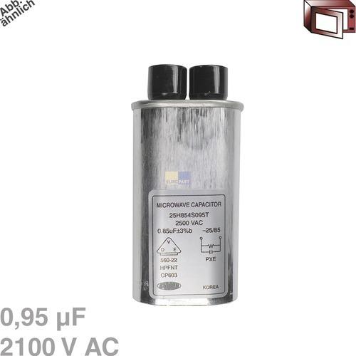 Klick zeigt Details von Kondensator 0,95µF 2100VAC