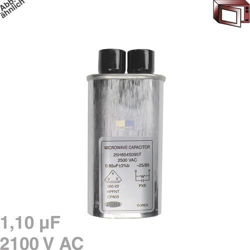 Klick zeigt Details von Kondensator 1,10µF 2100VAC
