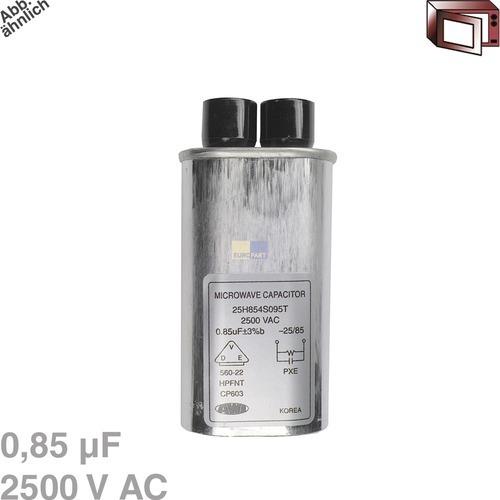 Klick zeigt Details von Kondensator 0,85µF 2500VAC