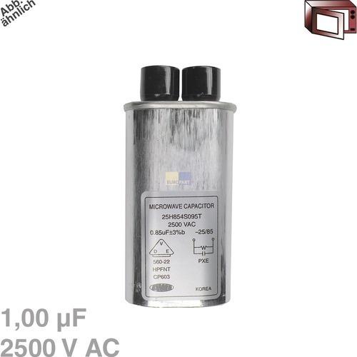 Klick zeigt Details von Kondensator 1,00µF 2500VAC