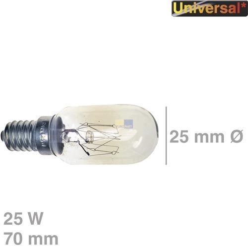 Klick zeigt Details von Lampe (MW) E14, 25W, 240V