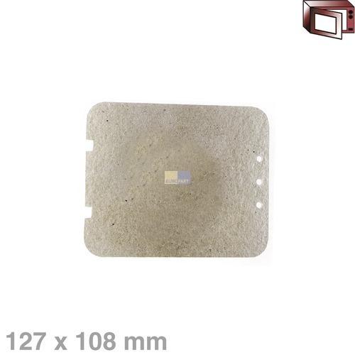 Klick zeigt Details von Hohlleiterabdeckung 127x108mm Sharp PCOVPA147WRE0 Alternative für Mikrowelle
