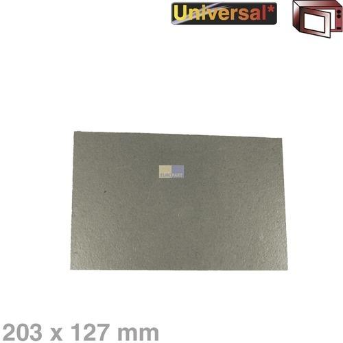 Klick zeigt Details von Hohlleiterabdeckung 203x127mm Universal! Alternative zuschneidbar für Mikrowelle