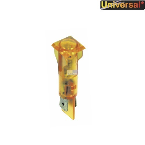 Klick zeigt Details von Lampe,Kontroll- gelb, viereckig