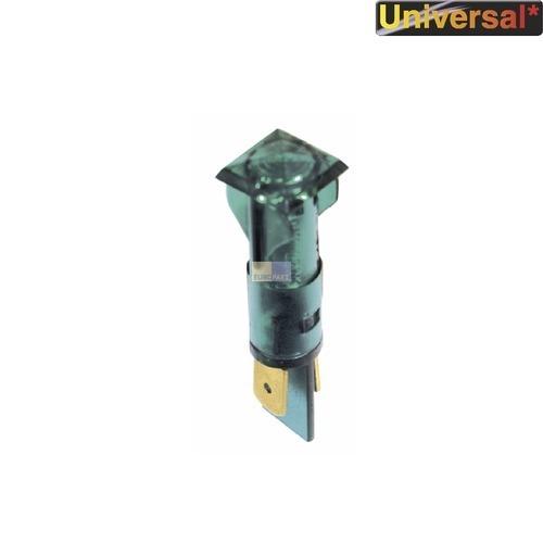 Klick zeigt Details von Kontrolllampe Kontroll Lampe grün, viereckig